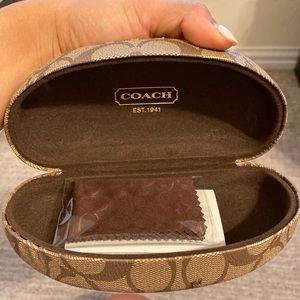 Coach Original Sunglasses Case  Monogram Hard Case